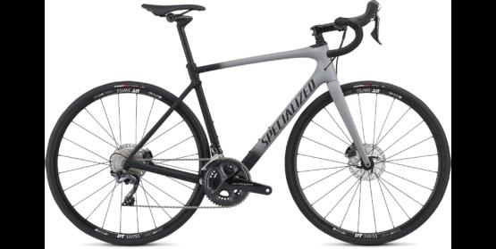 Roubaix Comp - Satin Cool Grey - Black Fade - Clean