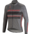 Element RBX Comp Logo LS Jersey - Anthracite - Acid Red