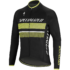 Therminal RBX Comp Logo LS Jersey - Black - Neon Yellow