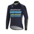 Therminal RBX Comp Logo LS Jersey - Blue - Neon Blue