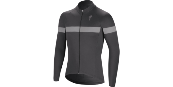 Therminal RBX Sport LS Jersey - Anthracite - Grey
