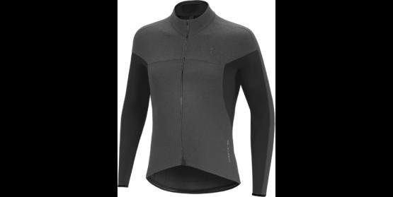 Therminal SL Expert LS Jersey - Dark Grey - Black