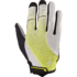 Women's Body Geometry Gel Long Finger Gloves - Limon - Grey