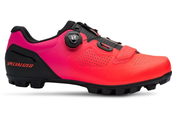 Expert XC Mountain Bike Shoes - Black - Acid Lava