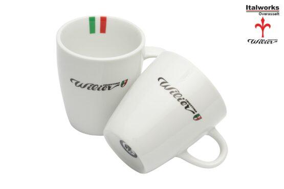 Wilier cappucinno cups / koffie kopjes (2st)