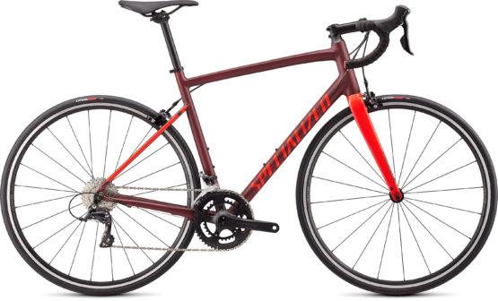 Specialized Allez Sport - Satin Gloss Crimson Rocket Red