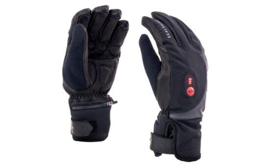 Sealskinz waterdichte, verwarmde handschoenen