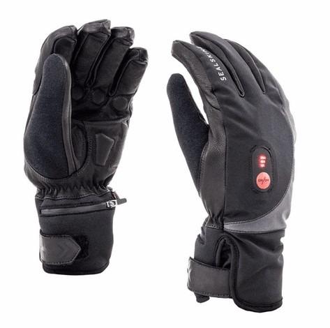 Sealskinz waterdichte , verwarmde handschoenen