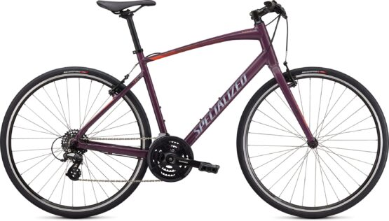 Specialized Sirrus 1.0 Gloss Cast Lilac : Vivid Coral : Satin Black Reflective