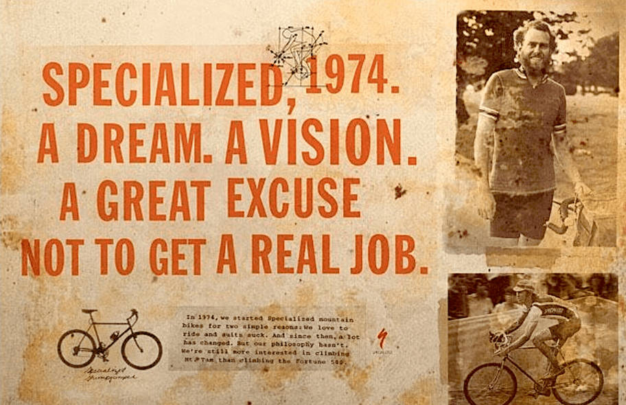 Specialized historie