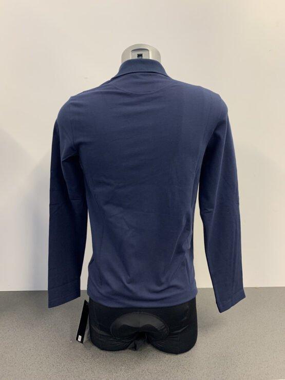 Pinarello Polo Blue Long Sleeve 2